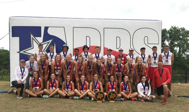 St. Paul Cardinals -    2016 TAPPS 2A Boys & Girls State Track & Field Champions